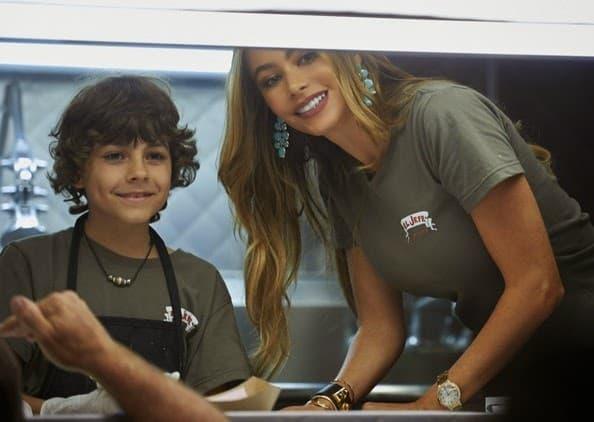 Chef Sofia Vergara and Emjay Anthony