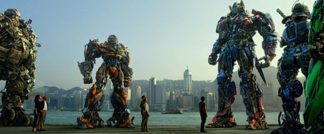 Transformers Age of Extinction Autobots in Hong Kong