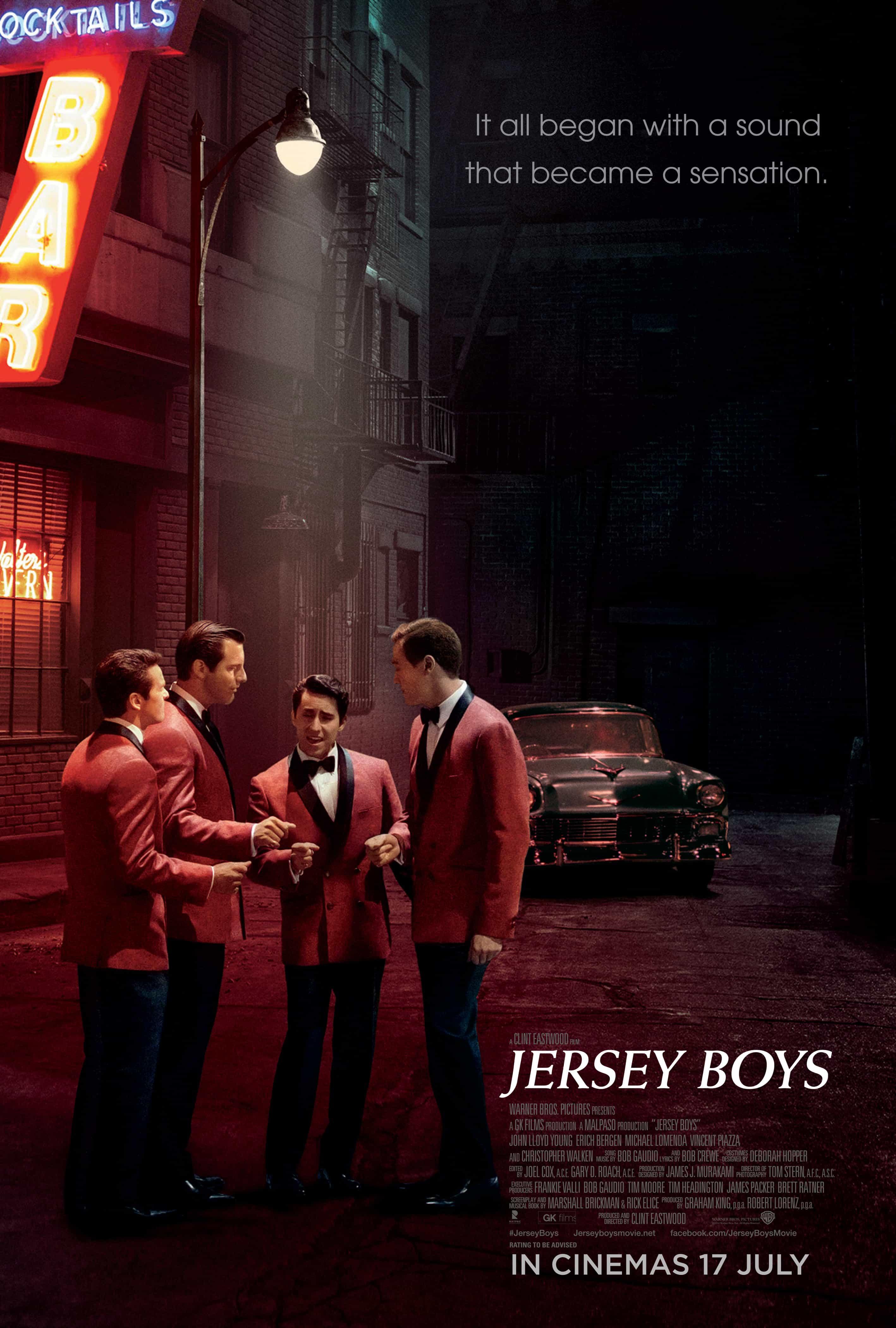 JERSEY BOYS – Contest