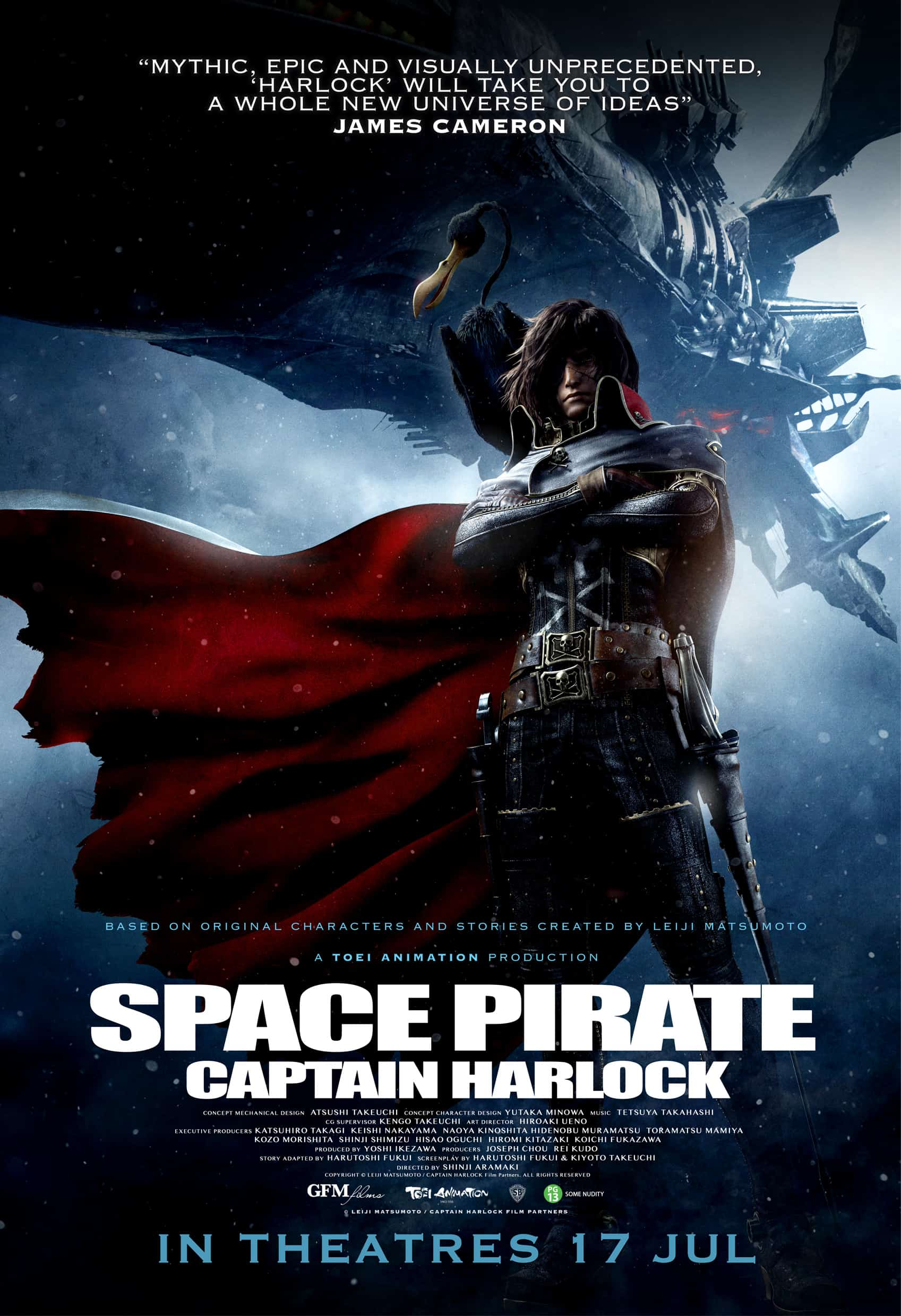 SPACE PIRATE CAPTAIN HARLOCK – Review