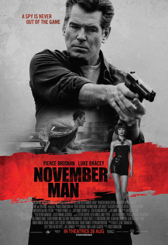 THE NOVEMBER MAN – Review