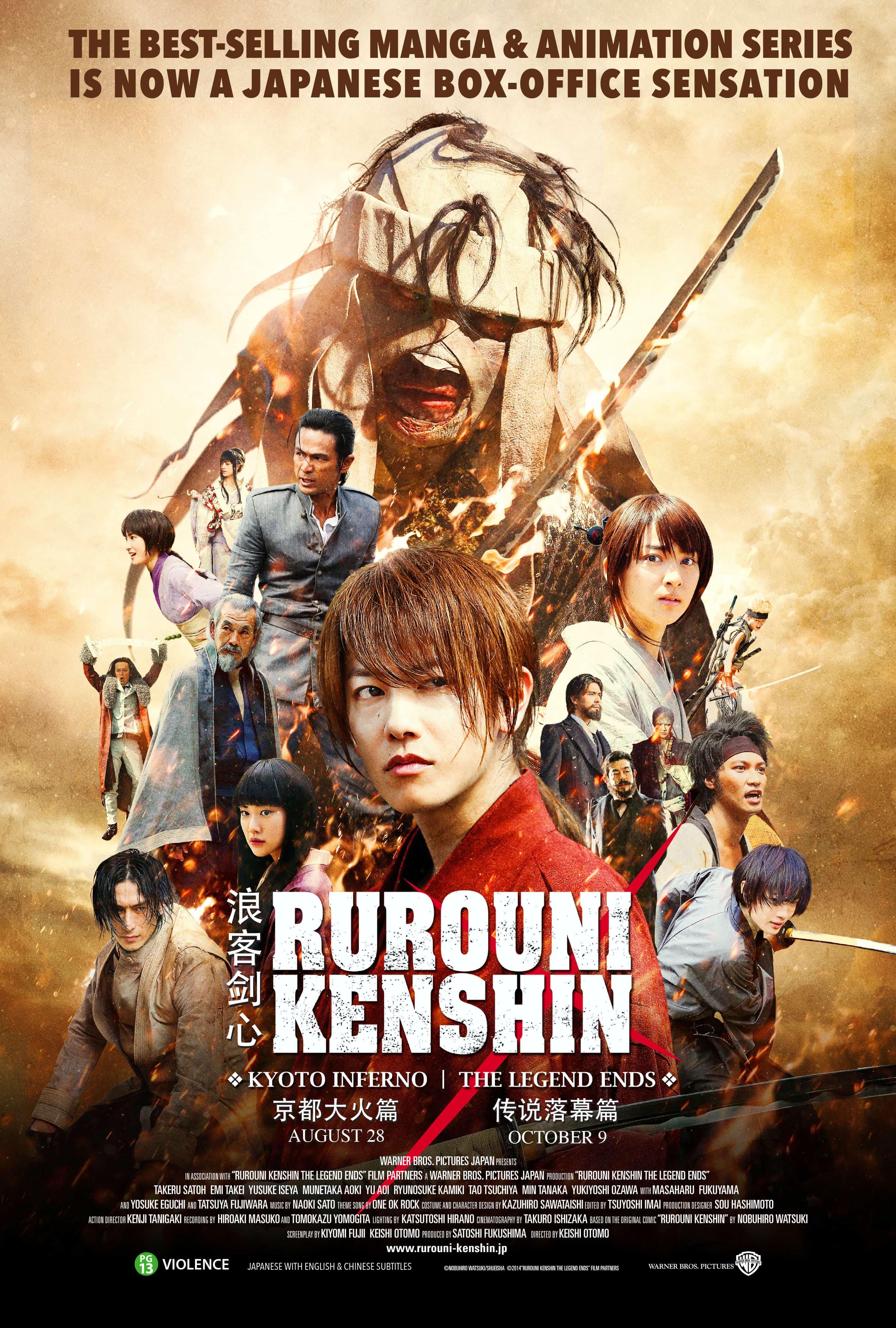 RUROUNI KENSHIN: KYOTO INFERNO – Review