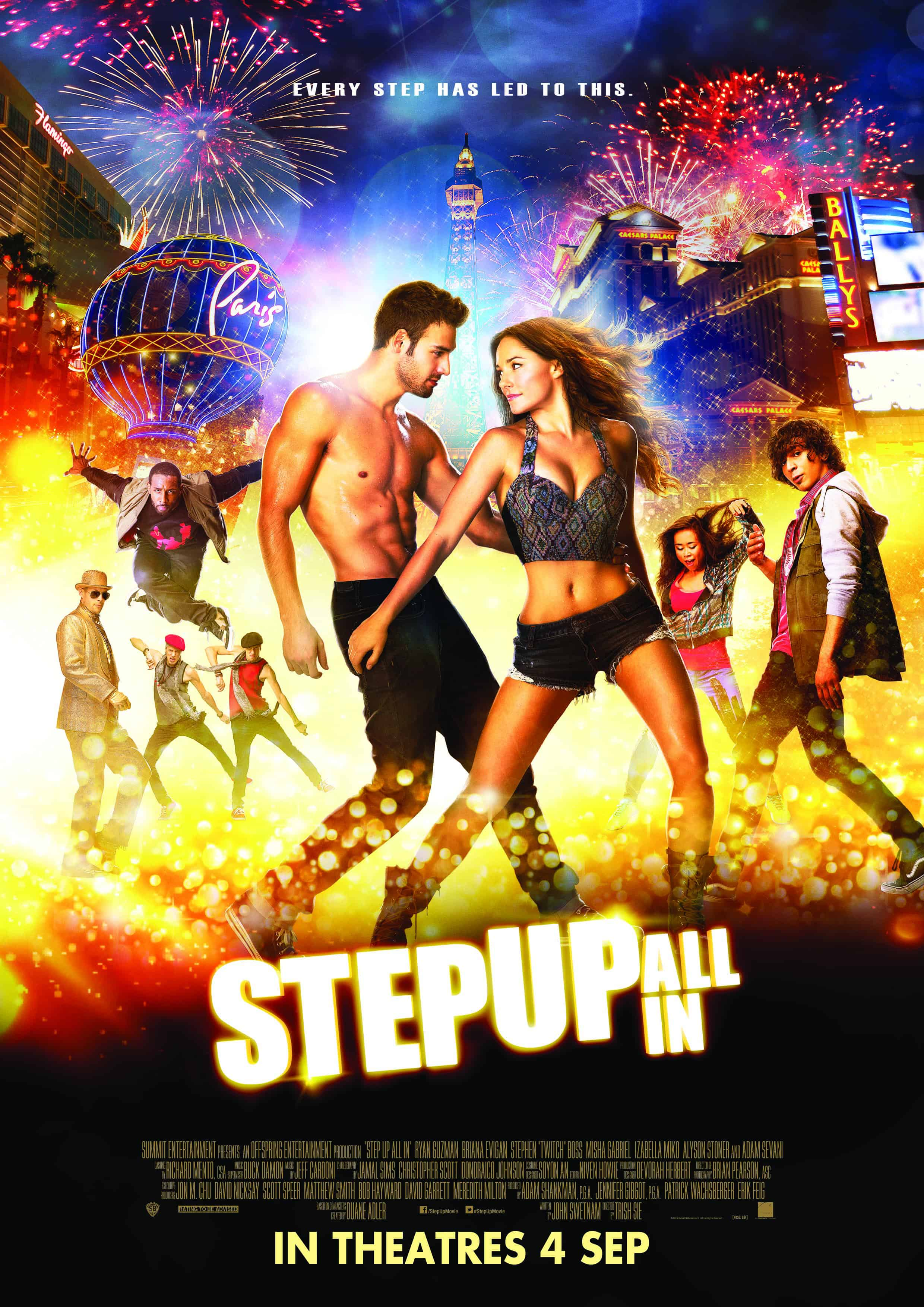 STEP UP ALL IN (3D) – Contest