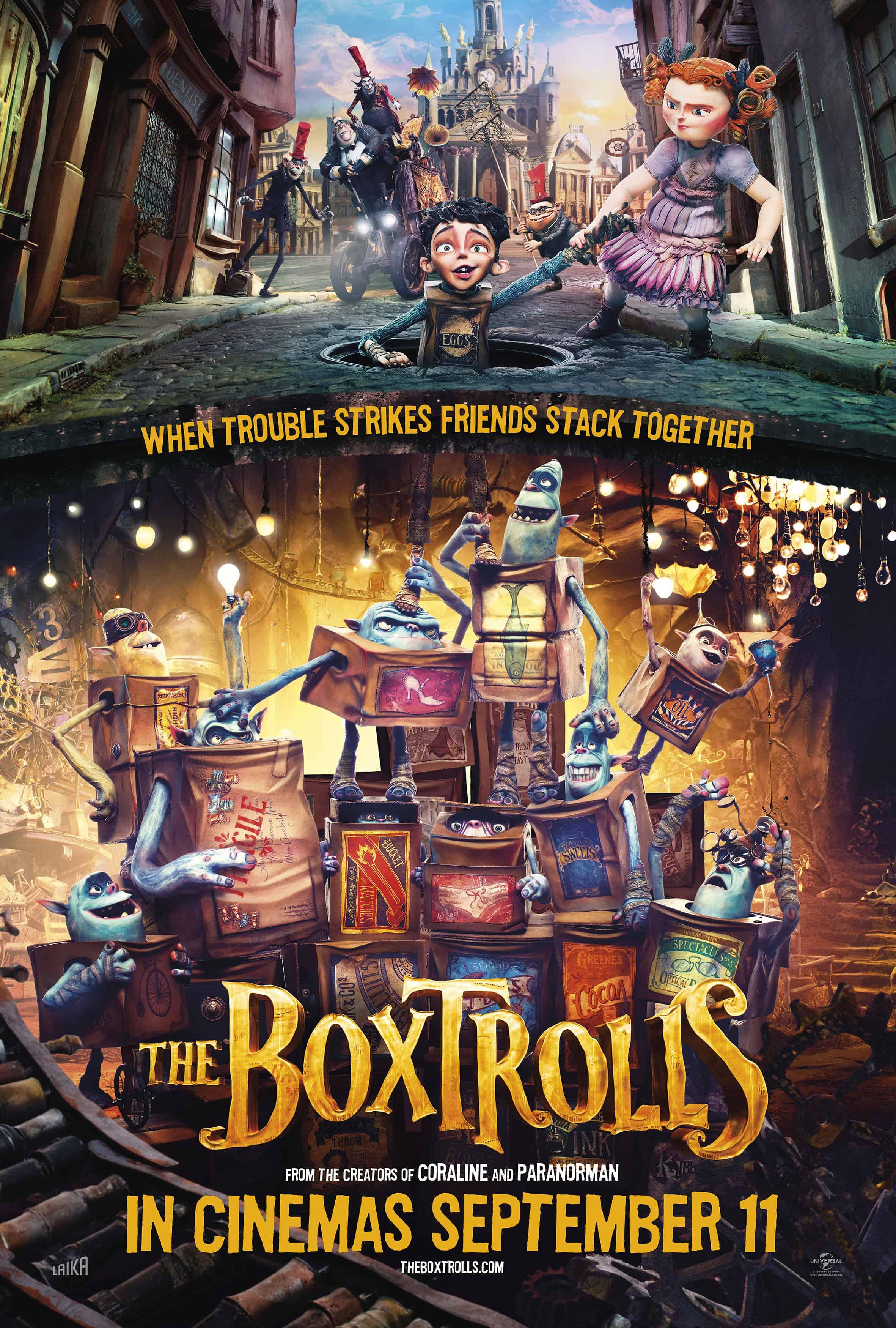 The Boxtrolls – Review