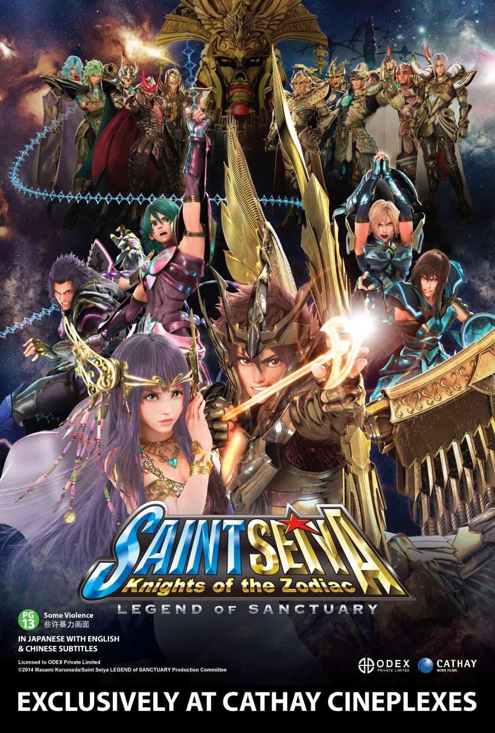 Saint Seiya: Legend Of Sanctuary – Review