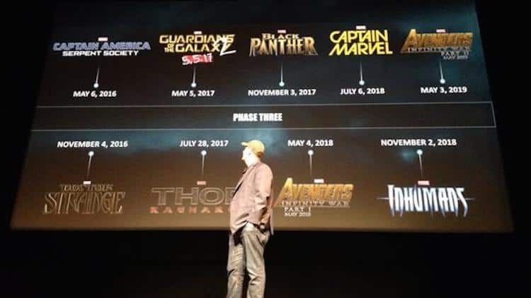 Marvel Reveals Complete Phase 3 Plans