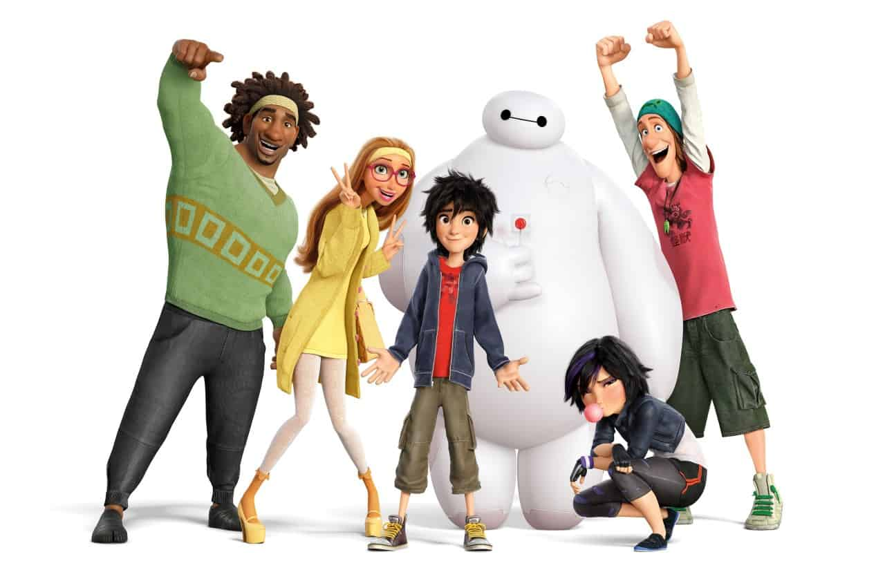 'Big Hero 6' smashes weekend records