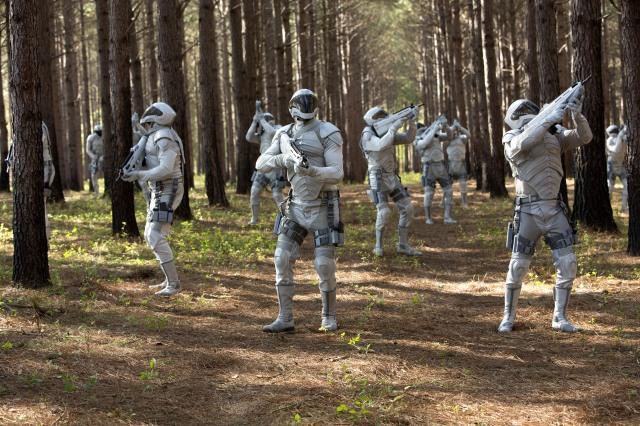 Mockingjay - Panem troops