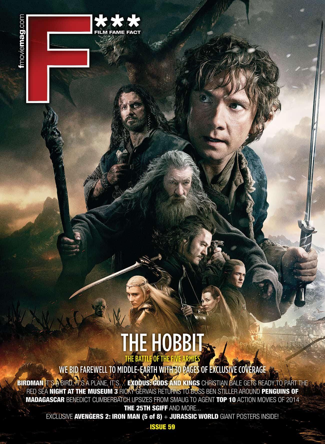 #59 (Dec 2014) The Hobbit issue