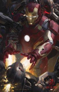 Iron Man (Avengers 2) giant poster, F*** Magazine #59