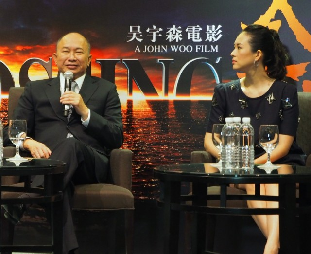 John Woo and Zhang Ziyi