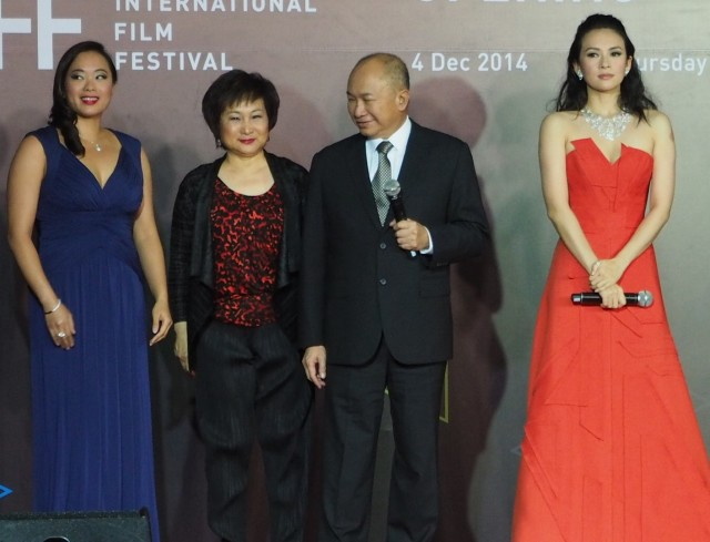 Angeles Woo, Annie Woo, John Woo and Zhang Ziyi