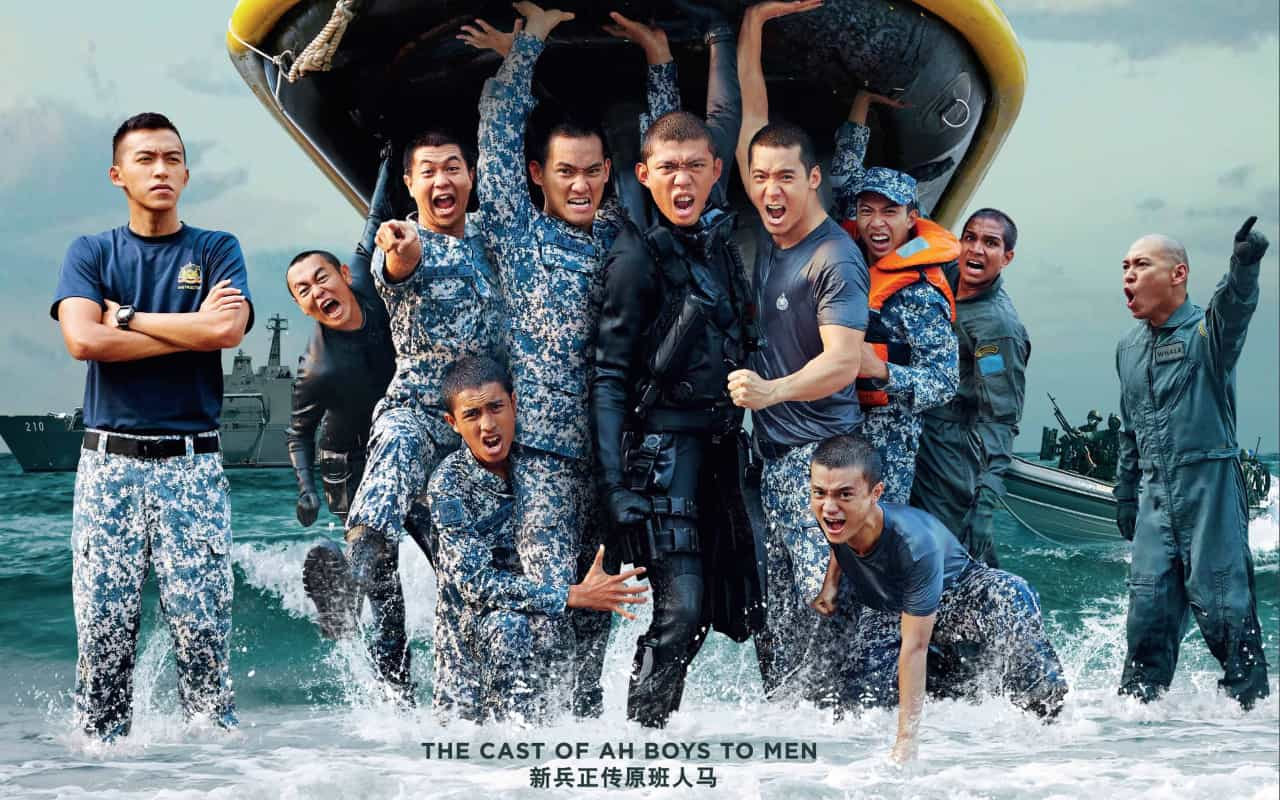 Ah Boys To Men 3: Frogmen – New trailer