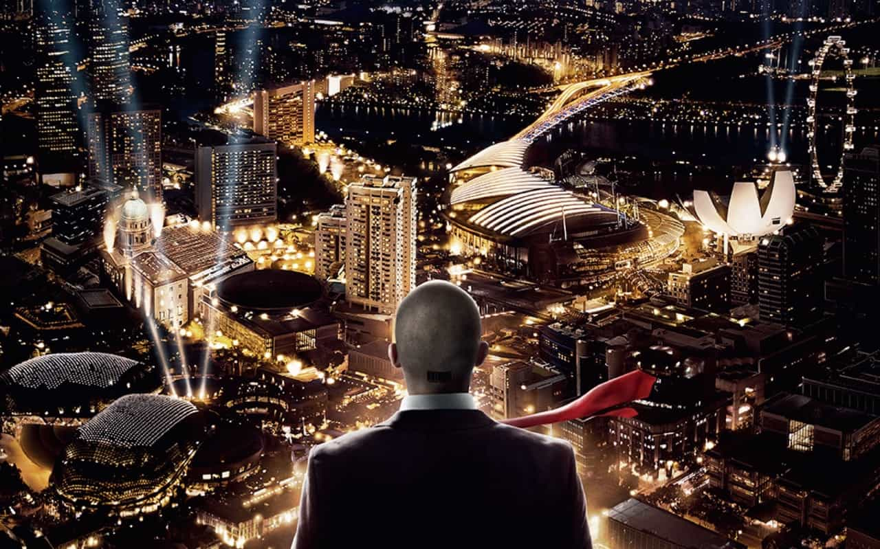Singapore's cityscape stars in trailer and poster of 'Hitman: Agent 47'