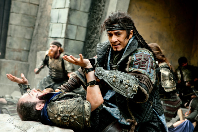 Jackie Chan plays the Commander of the Protectorate of the Western Region