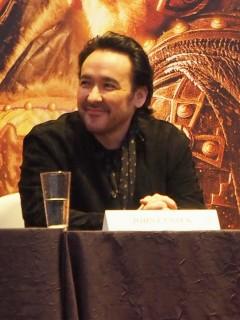 Dragon Blade press con - John Cusack