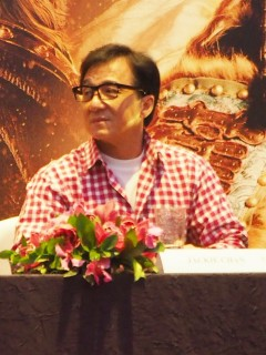 Dragon Blade press con - Jackie Chan