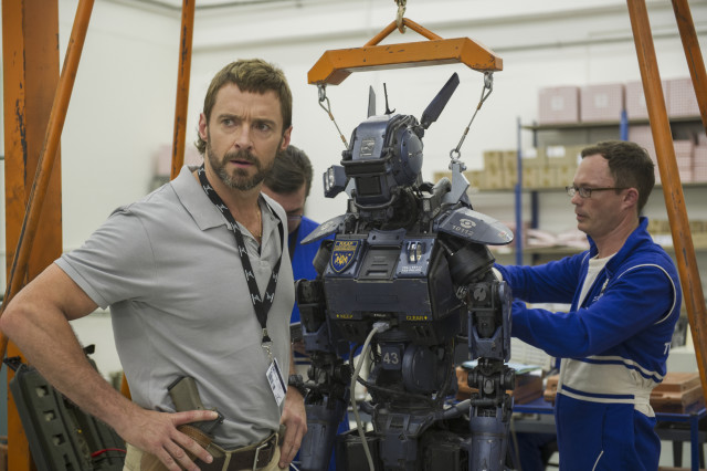 Hugh Jackman stars as Vincent in Columbia Pictures' action-adventure CHAPPIE.