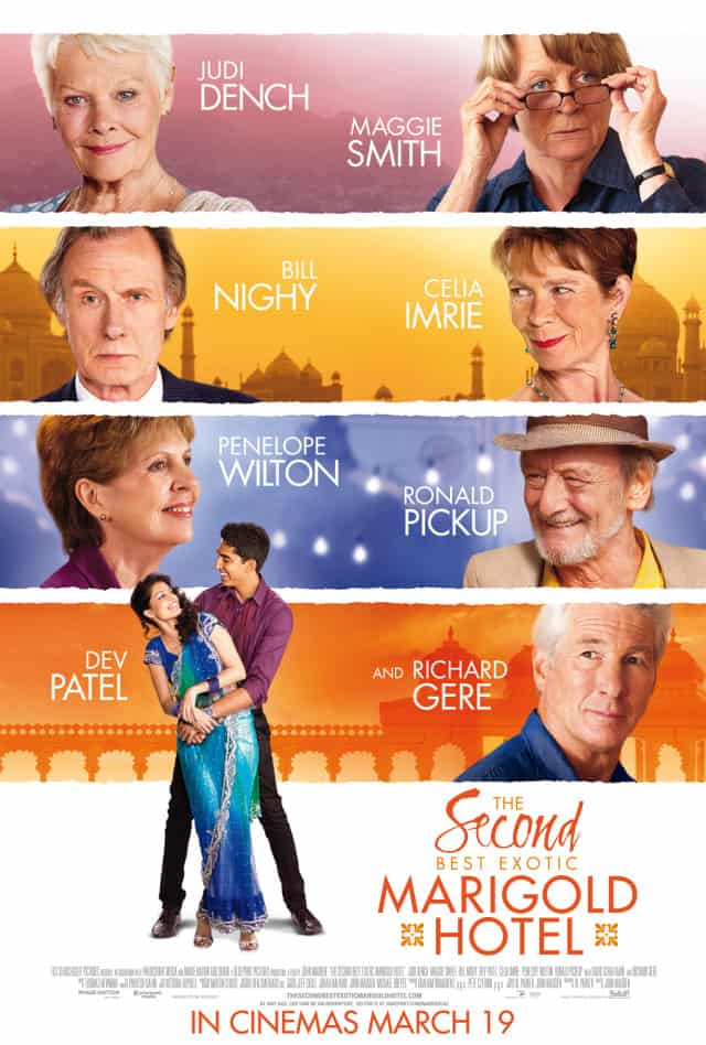 The Second Best Exotic Marigold Hotel – Review