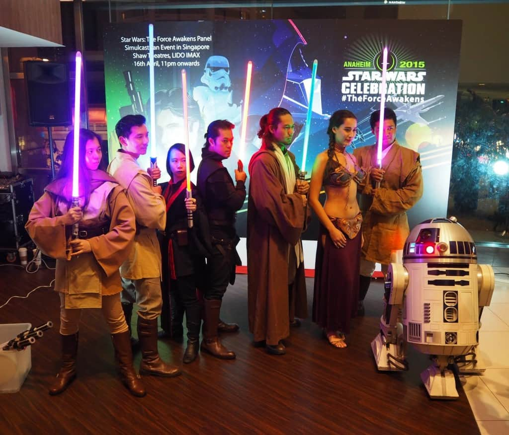 Star Wars Celebration Singapore Fan Event : Staying Awake For The Force Awakens