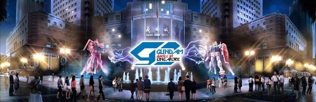 Gundam Docks at Singapore (Photo: © SOTSU・SUNRISE)