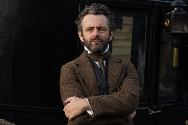 """Michael Sheen as """"William"""" in FAR FROM THE MADDING CROWD. Photos by Alex Bailey. © 2014 Twentieth Century Fox Film Corporation All Rights Reserved"""