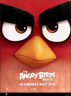 The Angry Birds Movie giant poster