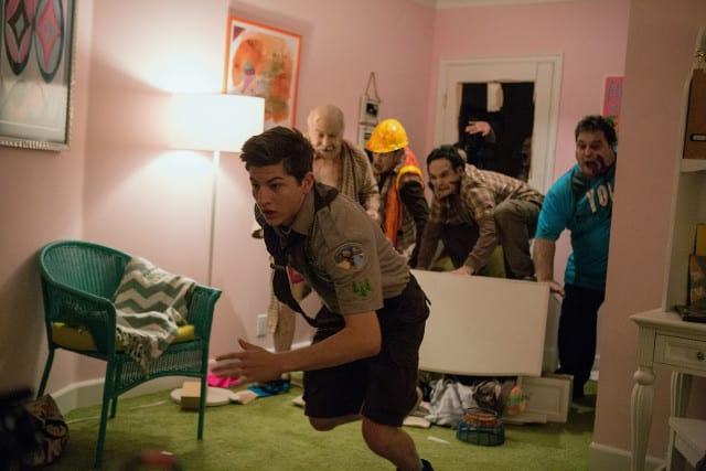 Tye Sheridan plays Ben in SCOUTS GUIDE TO THE ZOMBIE APOCALYPSE from Paramount Pictures.