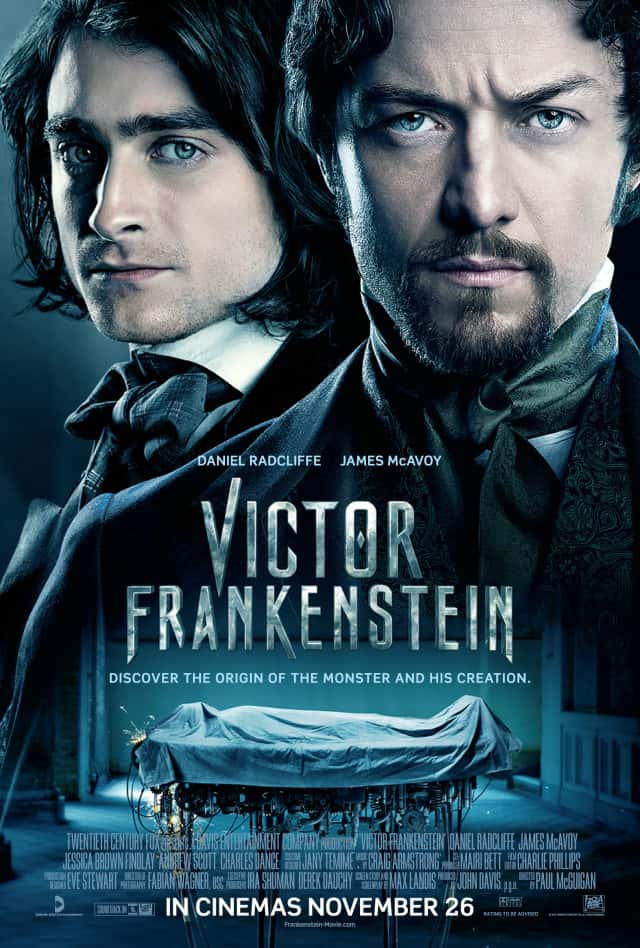 Victor Frankenstein – Review