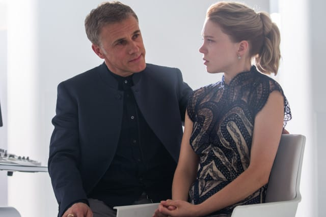Christoph Waltz;Lea Seydoux