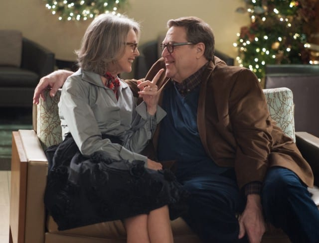 LOVE THE COOPERS(Left to right) Diane Keaton and John Goodman in LOVE THE COOPERS to be released by CBS Films and Lionsgate.