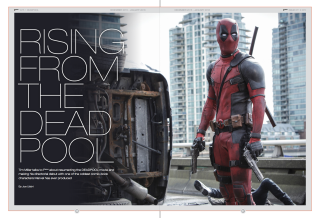 Fmoviemag #71/72 Deadpool feature