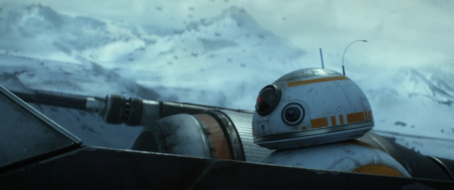 Star Wars: The Force Awakens BB-8 Ph: Film Frame © 2014 Lucasfilm Ltd. & TM. All Right Reserved.