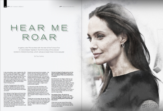 Fmoviemag #73 Angelina Jolie Kung Fu Panda 3 interview