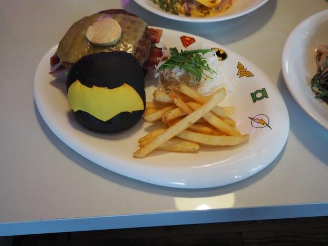 Batman's Wagyu Beef Jaw Burger