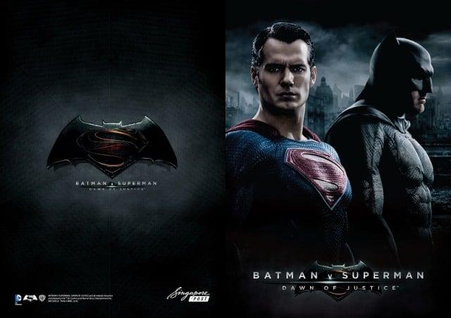 SingPost Batman v Superman MyStamp Collection Folder