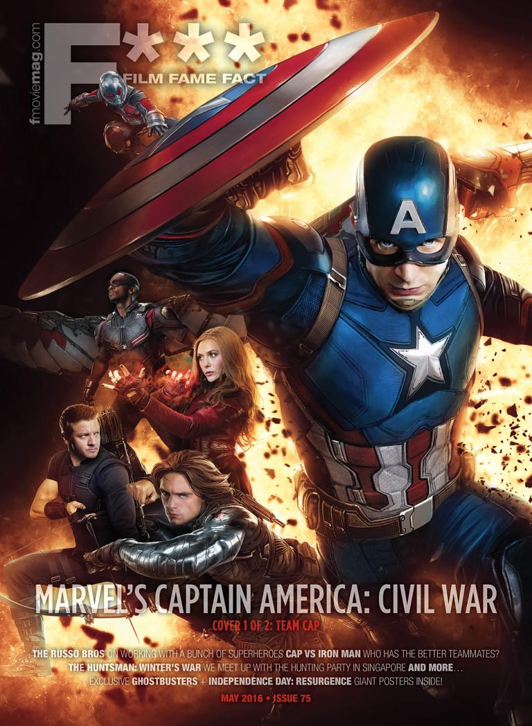 #75 (May 2016) Captain America: Civil War