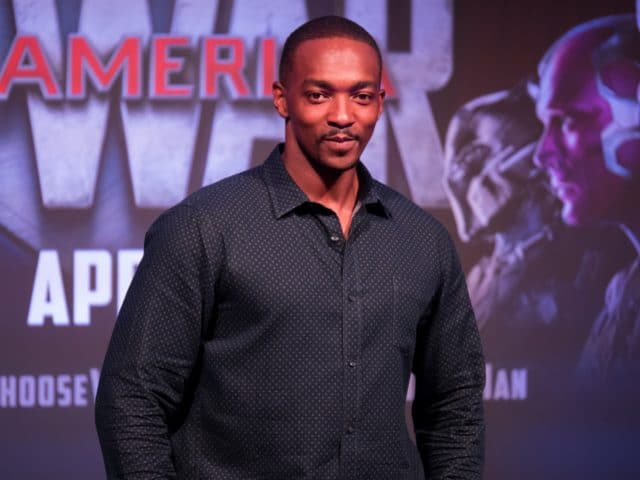 Team Cap in Singapore - Anthony Mackie