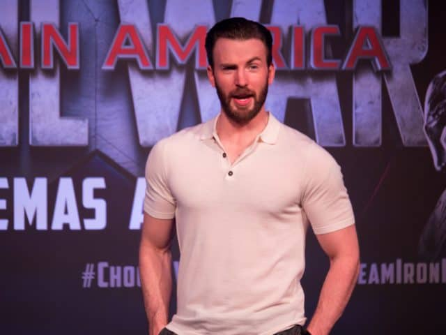 F*** meets Team Cap in Singapore - Chris Evans