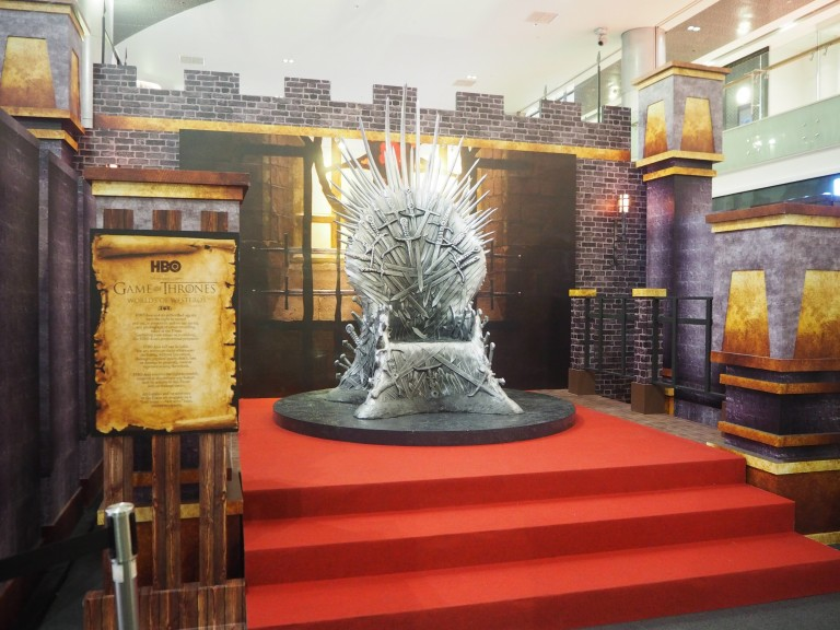 Claim The I(r)on Throne