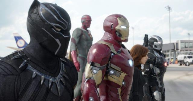Captain America: Civil War - Team Iron Man