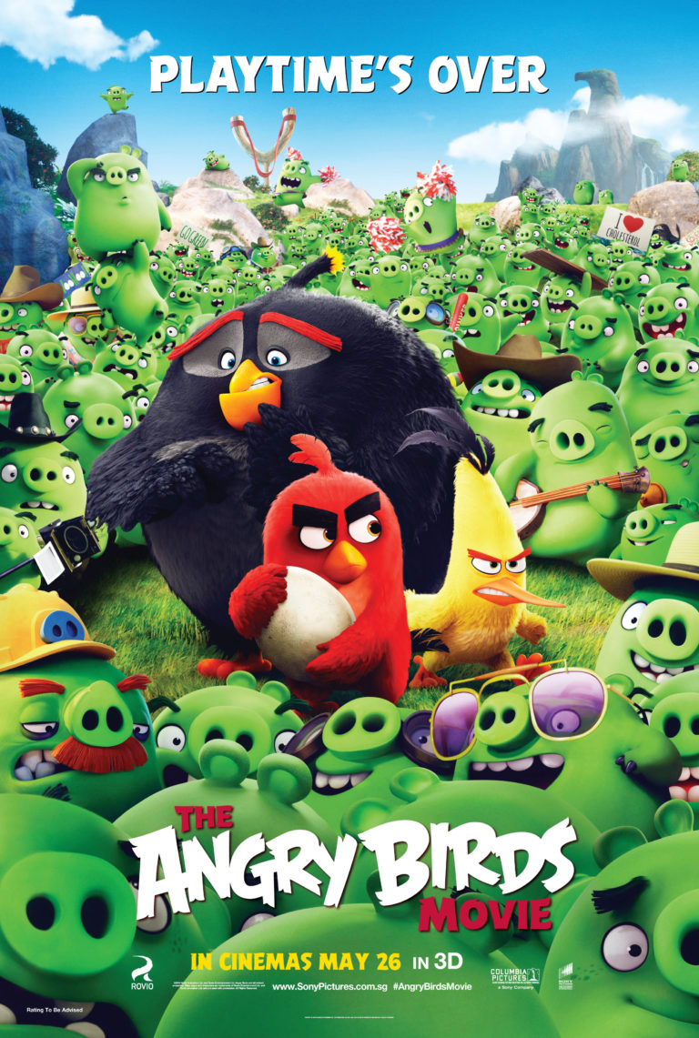 The Angry Birds Movie – Review