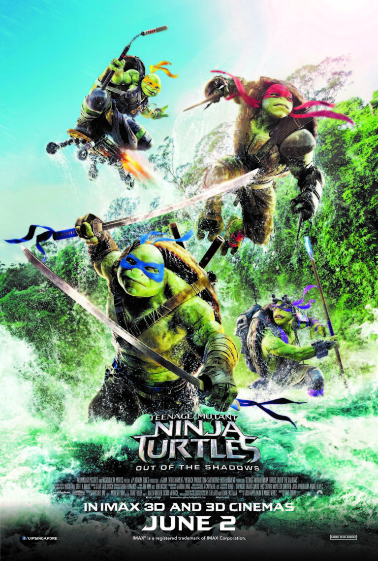 Teenage Mutant Ninja Turtles: Out Of The Shadows – Review