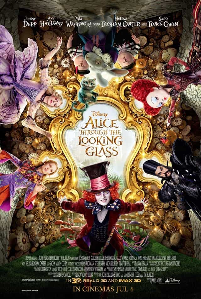 Alice Through the Looking Glass – Review
