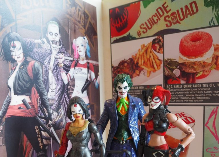 Task Force Snax: F*** tucks into Suicide Squad culinary creations at the DC Comics Super Heroes Café