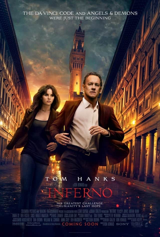 Inferno (2016) – Review