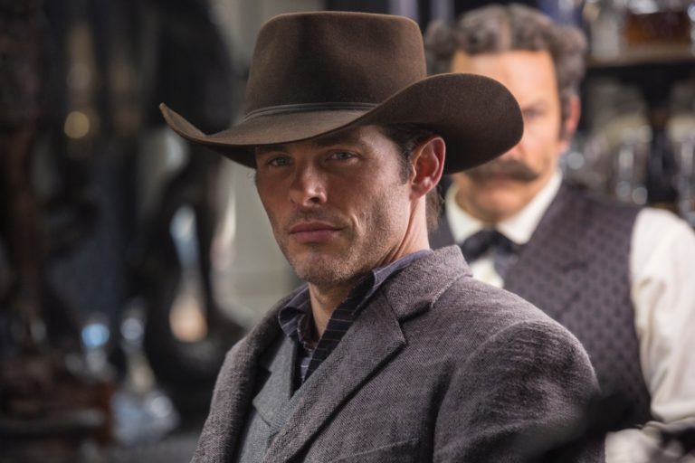 OPEN THE FLOODGATES: James Marsden regales F*** with tales from Westworld