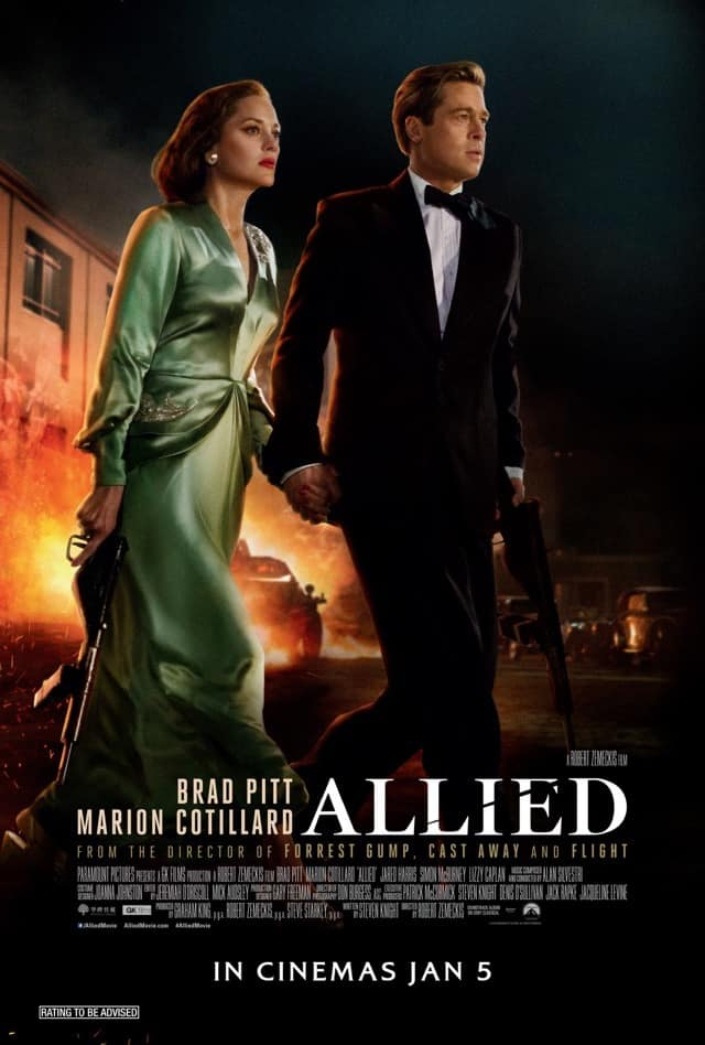 Allied (2016) – Review