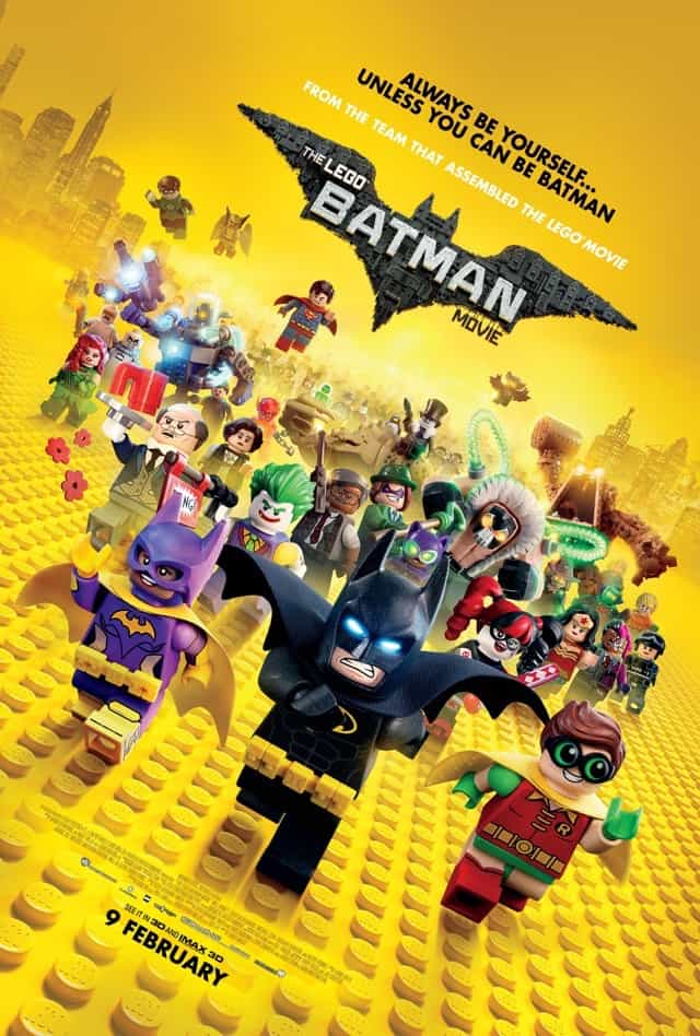 THE LEGO BATMAN MOVIE – Contest