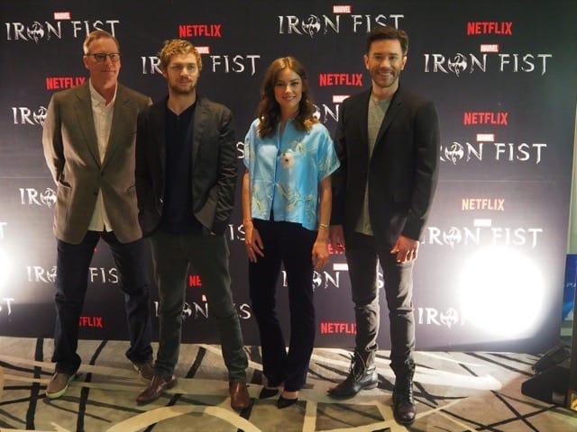 "A Little Bit of Fisticuffs: ""Iron Fist"" Press Conference"